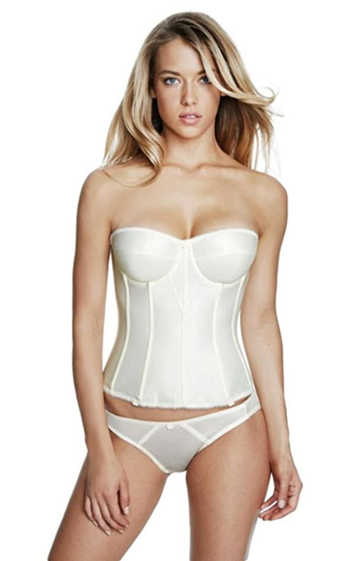 longline bra plus size strapless - dominique torsolette
