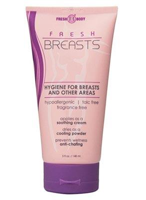 Breast sweat rash