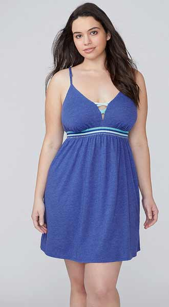 lane bryant cami Pajamas with built in bras