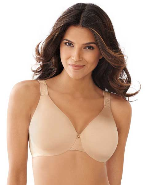 Plus size moisture wicking bra