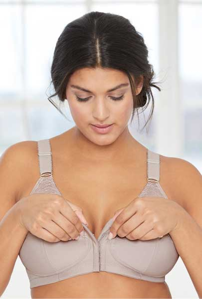 ac05404606628 6 front closure bras with no underwire for D cups or bigger