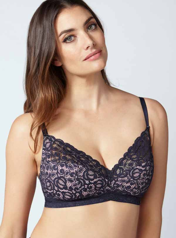 898454aaf5225 Two other brands you can try for bralettes and bralette hybrids are Torrid  and Lane Bryant. Both brands produce bras for larger band and cup sizing.