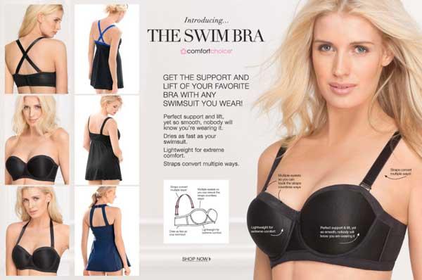 swim bra for under bathing suit