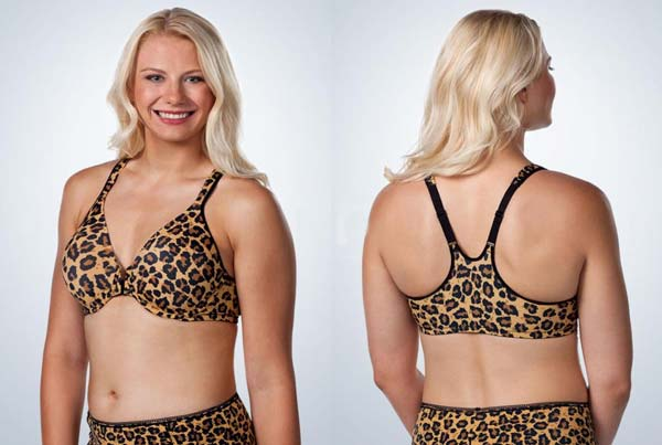 Leading lady front closure Racerback bras for large breasts