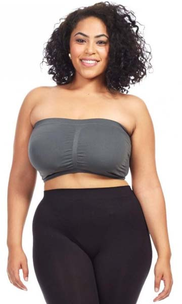 9599bd34451 Summer s Here! 12 plus size bandeau bra options for any wardrobe